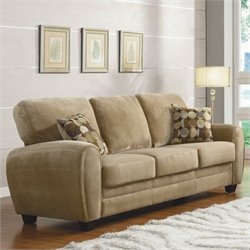 Trent Home Rubin Sofa in Light Brown