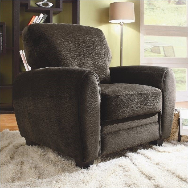 Trent Home Rubin Chair in Chocolate
