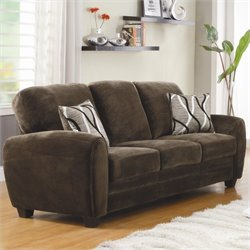 Trent Home Rubin Sofa in Chocolate