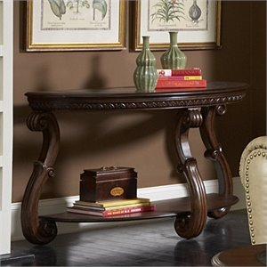 Trent Home Cavendish Sofa Table in Warm Cherry