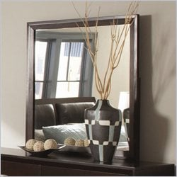 Homelegance Astrid Mirror in Espresso Finish