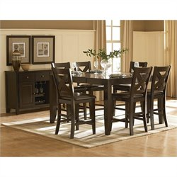 Trent Home Crown Point Counter Height Table
