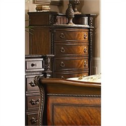 Trent Home Palace Chest with Marble Insert