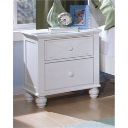 Trent Home Sanibel Night Stand in White