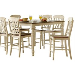 Trent Home Ohana Counter Height Dining Table in White