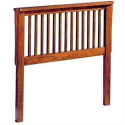 Homelegance Mission Youth Headboard in Mission Oak Finish - Twin
