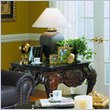 ADD TO YOUR SET: Homelegance Gladstone Square End Table with Marble Top