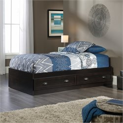 Sauder County Line Twin Mates Bed in Estate Black