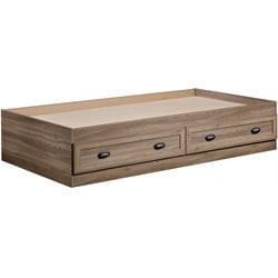 Sauder County Line Twin Mates Bed in Salt Oak