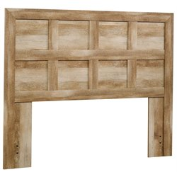 Sauder Dakota Pass Full Queen Panel Headboard in Craftsman Oak