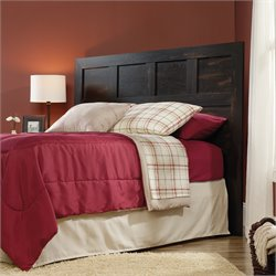 Sauder Dakota Pass Full Queen Panel Headboard in Char Pine