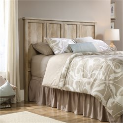 Sauder Cannery Bridge Full Queen Panel Headboard in Lintel Oak