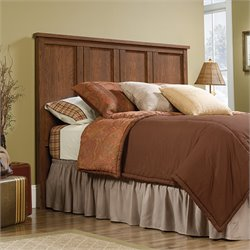 Sauder Cannery Bridge Full Queen Panel Headboard in Milled Cherry