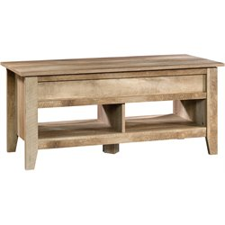 Sauder Dakota Pass Lift Top Coffee Table in Craftsman Oak