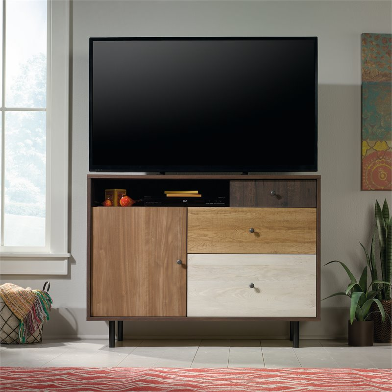 TV Stand in Spiced Mahogany