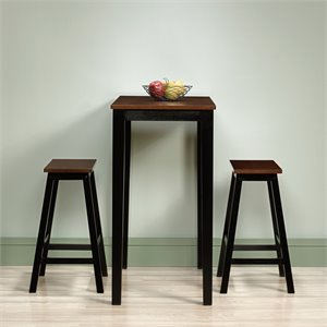 3 Piece Counter Height Set in Cherry