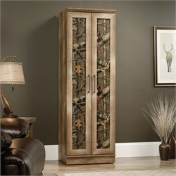 Sauder East Canyon Storage Cabinet in Craftsman Oak