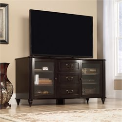 Entertainment Credenza in Jamocha Wood