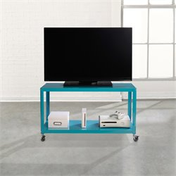 Sauder Soft Modern Multi Cart in Peacock Blue