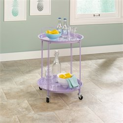 Bar Cart in Lavender