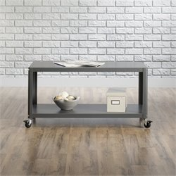 Sauder Square1 Multi Cart in Cinder Gray