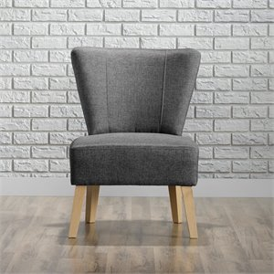 Accent Chair in Cinder Gray