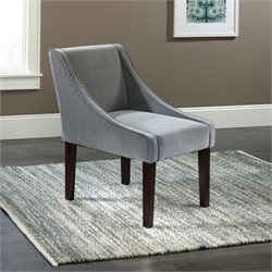 Sauder Select Arlie Accent Chair in Gray