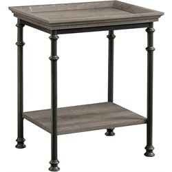 Sauder Canal Street End Table in Northern Oak