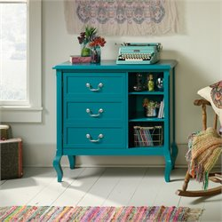 Sauder Eden Rue Accent Chest in Peacock