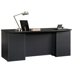 Sauder Via Executive Desk in Bourbon Oak