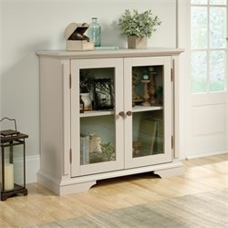 Sauder New Grange Accent Chest in Cobblestone