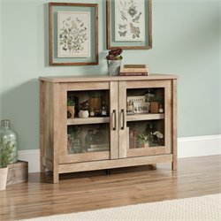 Sauder Cannery Bridge Accent Chest in Lintel Oak