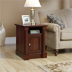 Sauder Palladia End Table in Cherry