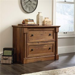 Sauder Palladia Lateral File in Vintage Oak
