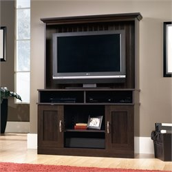 Sauder Select Entertainment Center in Cinnamon Cherry