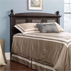 Sauder Harbor View Full / Queen Panel Headboard in Brown
