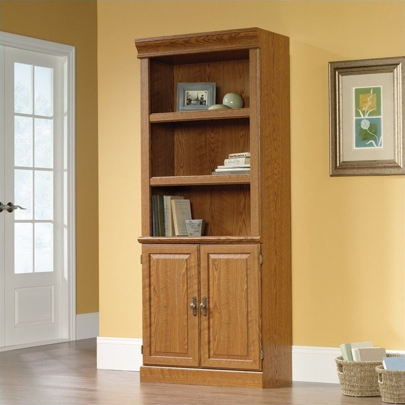 3 Shelf Bookcase in Carolina Oak