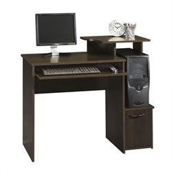 Office Wood Computer Desk in Cinnamon Cherry