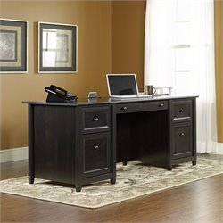 Executive Desk in Estate Black