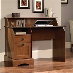 Sauder Graham Hill Desk in Autumn Maple