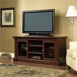 Sauder Palladia Full Size TV Stand in Cherry