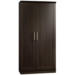 Sauder HomePlus 2 Door Jumbo Storage Cabinet in Dakota Oak