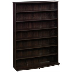 Sauder O' Sullivan Multimedia Storage Tower in Cinnamon Cherry