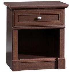 Sauder Palladia Nightstand in Cherry