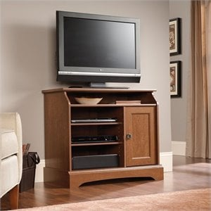 Highboy TV Stand in Autumn Maple