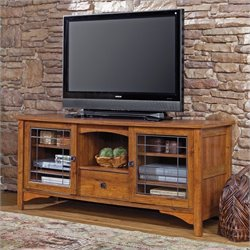 Entertainment TV Stand in Abbey Oak