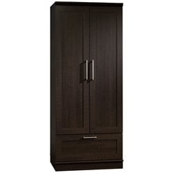 Sauder HomePlus Wardrobe Armoire in Dakota Oak Finish