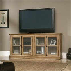 Sauder Barrister Lane Storage Credenza in Scribed Oak