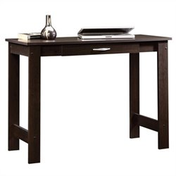 Sauder Beginnings Writing Table in Cinnamon Cherry Finish