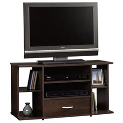 Panel TV Stand in Cinnamon Cherry